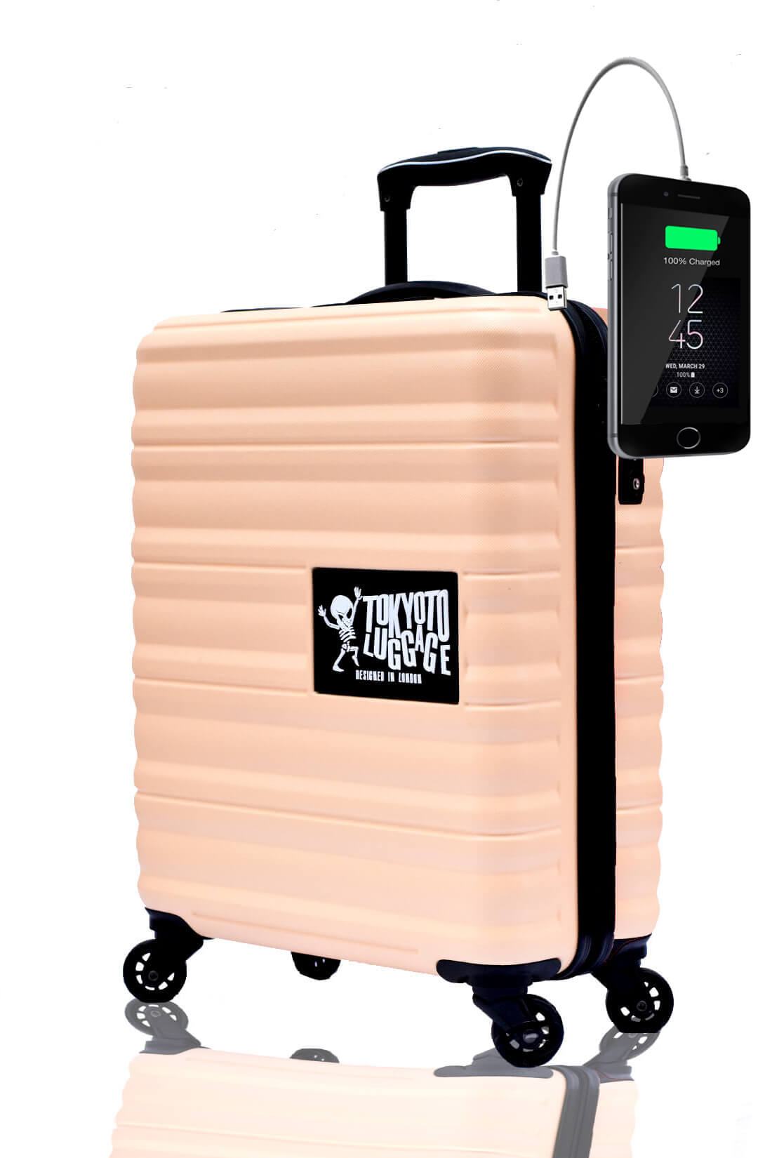 Children Cabin Hand Luggage Carry On Trolley Suitcase