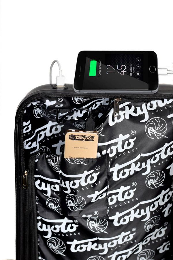Interior Trolley Luggage with Charger