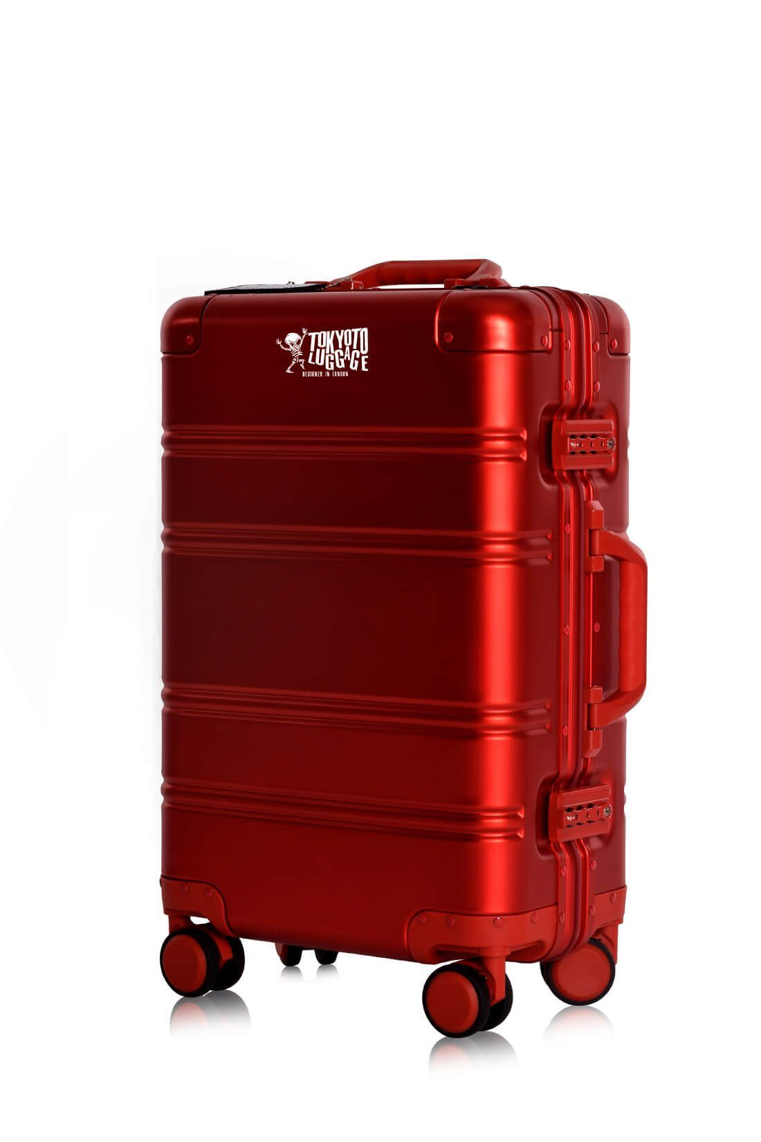 Red Logo Aluminium Trolley Side Small