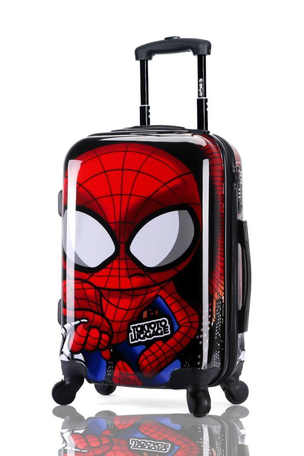 Suitcase Luggage Cabin Size Kids Trolleys TOKYOTO LUGGAGE Model SPIDER BOY 5