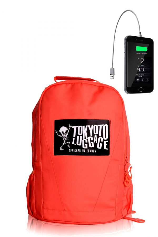 Backpack Urban Led Light with Powerbank CORAL