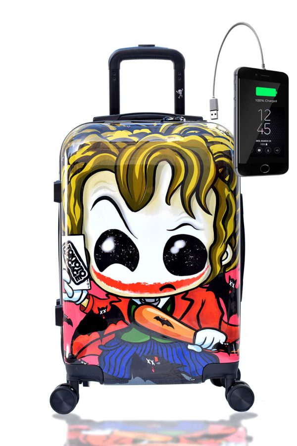 JOKER Hand Cabin Luggage Kids Rigid Carry-on TOKYOTO LUGGAGE 3