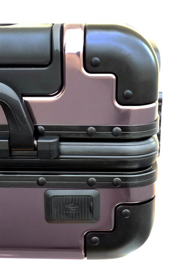 Aluminum Suitcase Trolley Cabin Luggage 2
