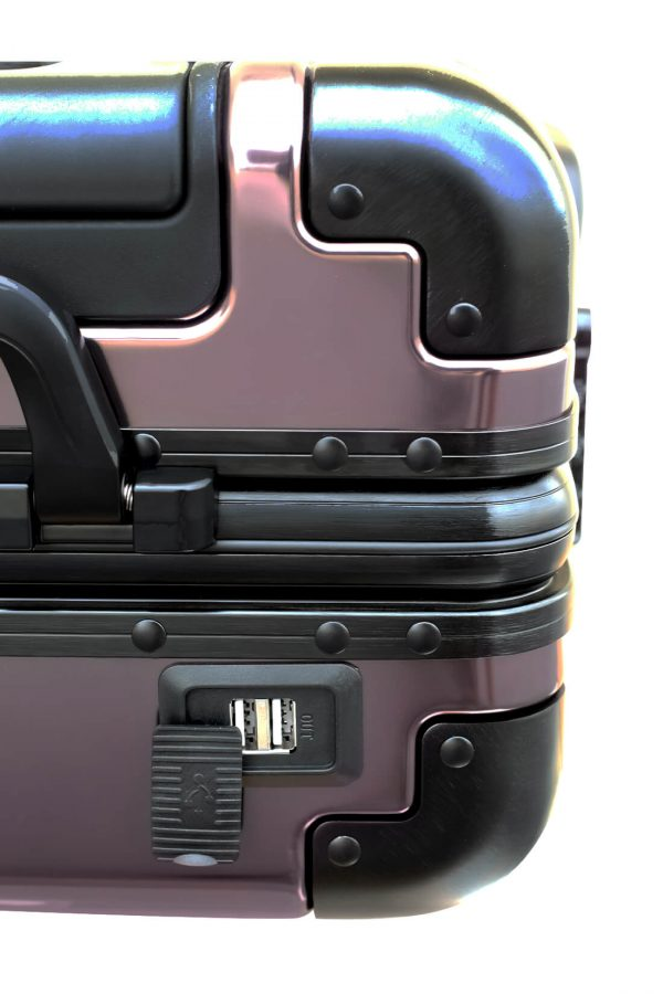 Aluminum Suitcase Trolley Cabin Luggage 5
