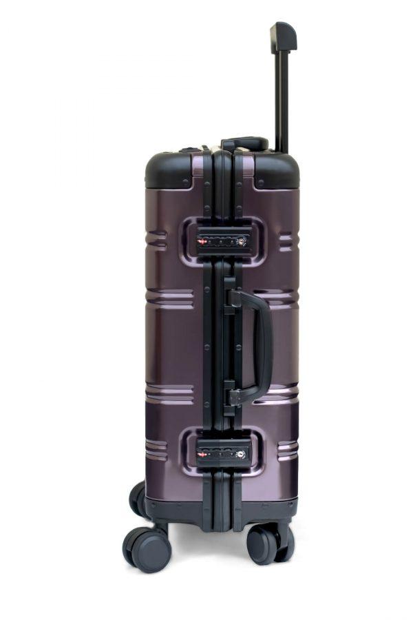 Aluminum Suitcase Trolley Cabin Luggage 7