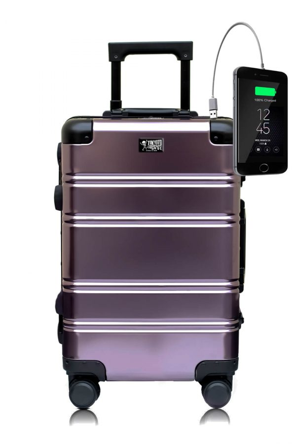 Aluminum Suitcase Trolley Cabin Luggage Suburra 2