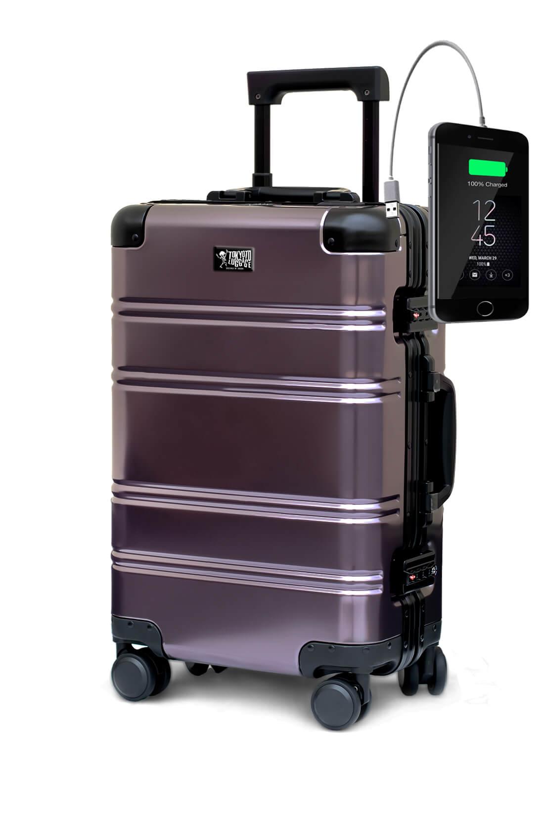 Aluminum Suitcase Trolley Cabin Luggage Suburra